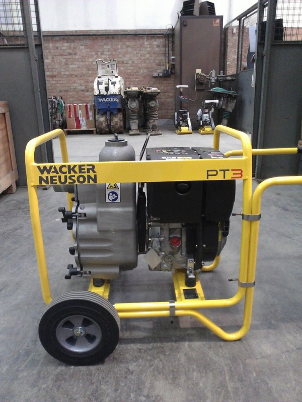 Compactor For Sale >> New Wacker Neuson Pump - SM Plant Limited